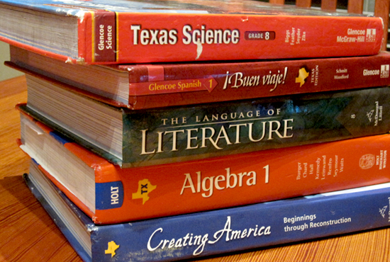 textbooks under fire